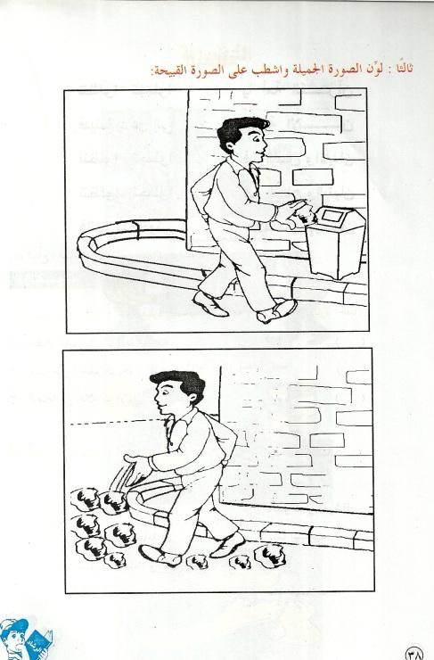 درس نموذجي لتعليم الاطفال فقه الطهاره والوضوء واداب دخول الحمام